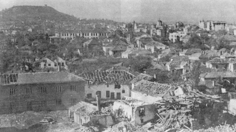 Бомбардовање Лесковца 1944.